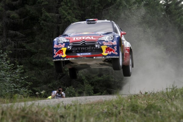 Loeb remains in Rally Finland lead on day two