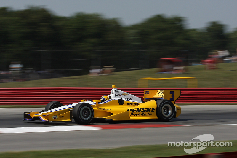 Power earns third pole of 2012 with record-breaking time to pace team Penske at Mid-Ohio