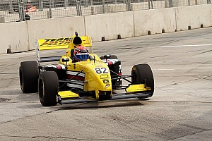 Pro Mazda Race report Team Pelfrey's Hawksworth wins on the streets of Trois-Rivieres