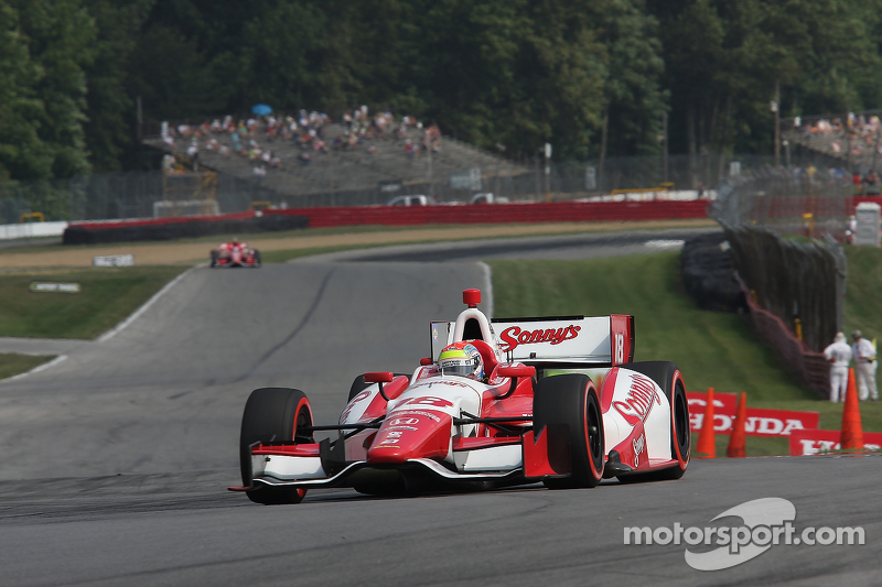 Strong weekend for Dale Coyne Racing does not show in Mid-Ohio results