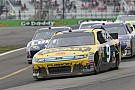 NASCAR 2011 at Watkins Glen, greeen white checkered & big crash - Video