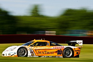 All Corvette Daytona Prototype front row at Watkins Glen