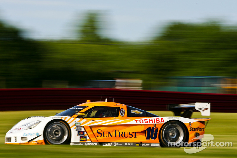 All Corvette Daytona Prototype front row at Watkins Glen