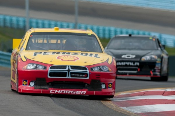 Hornish makes his own luck this weekend at Watkins Glen