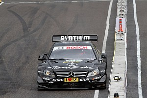 DTM Qualifying report Jamie Green leads Mercedes in Nürburgring qualifying