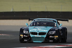 Blancpain Sprint Race report Buurman and Bartels win Slovakiaring championship race