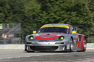 ALMS Race report Lizard Porsche 2nd at Road America after early lead