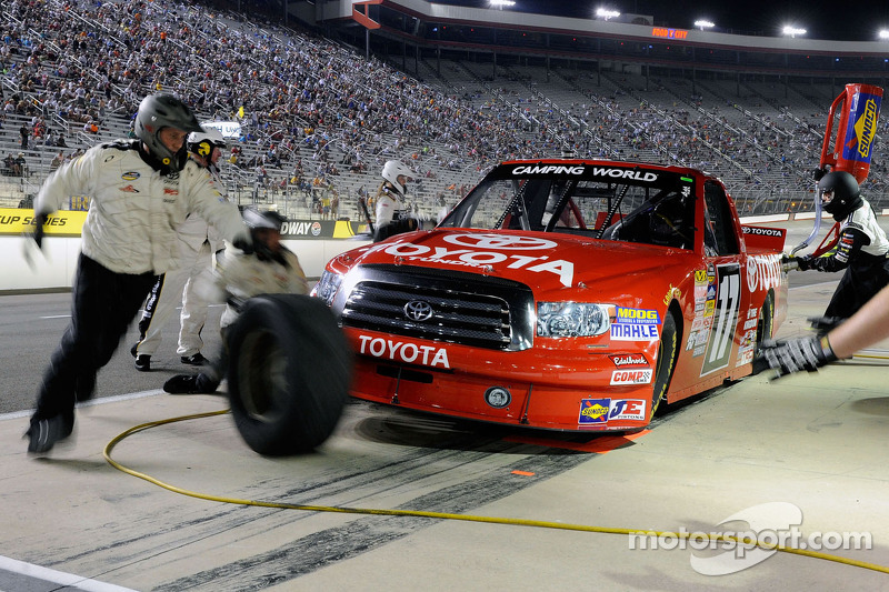 All the crashes and post race reactions from the UNOH 200 at Bristol - videos