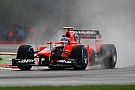 Pic and Glock use wet practice day at Spa for future data