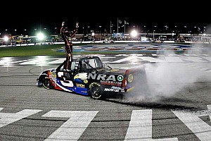 Ty Dillon grabs first career truck win in Atlanta