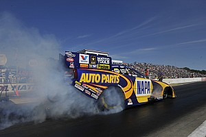 NHRA Qualifying report Don Schumacher Racing resets for Saturday Indianapolis quaifications