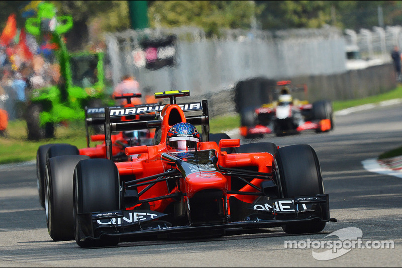 Italian GP exceed Marussia expectation
