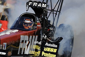 NHRA Race report Massey loses first Indy title to teammate Schumacher