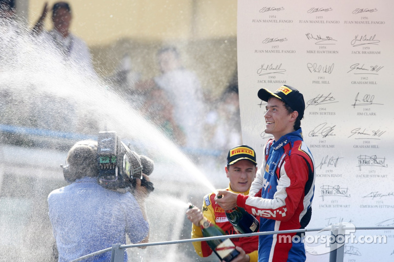 Southwater's Palmer secures superb GP2 podium at Monza