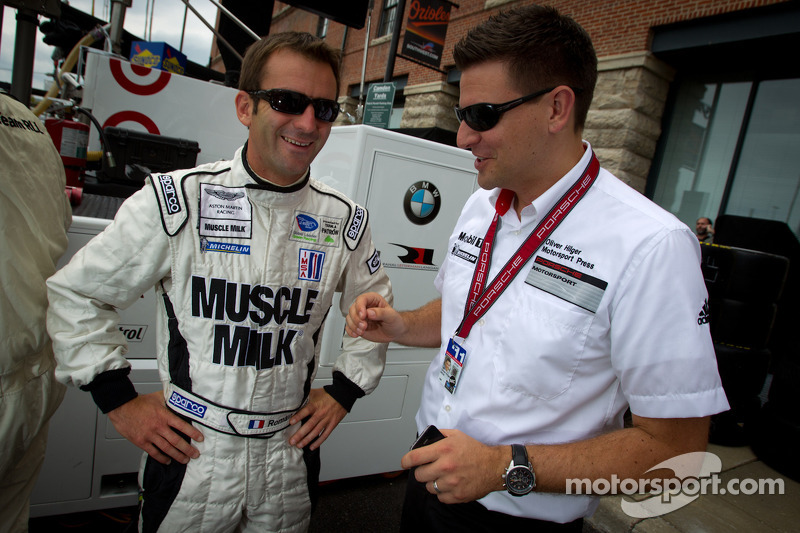 Romain Dumas to race at Petit Le Mans with Muscle Milk Pickett Racing