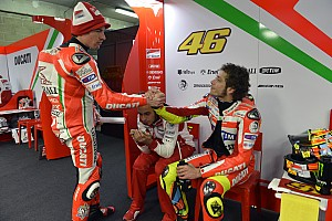 Weather stops Ducati riders at Misano