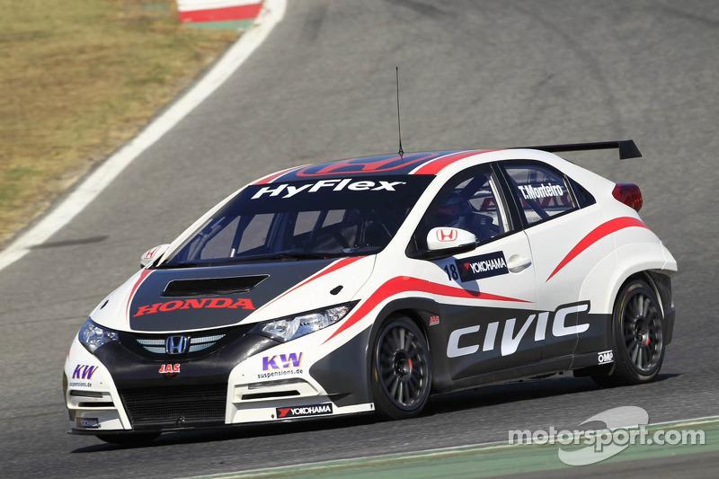Tiago Monteiro concludes three days of testing in Algarve