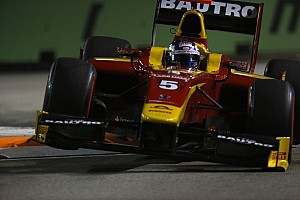 GP2 Qualifying report 5th place for Leimer in qualifying at Singapore
