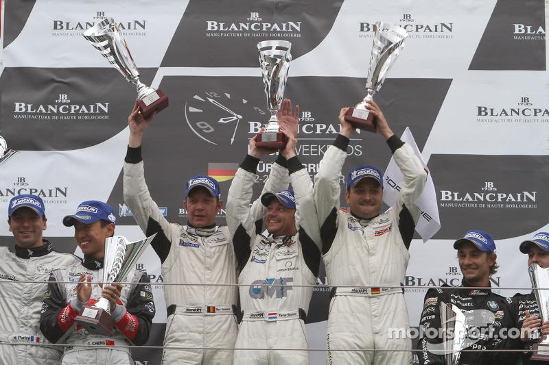 Prospeed Porsche wins Blancpain Series thriller at the Nurburgring