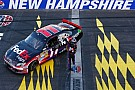 Prediction comes true as Hamlin lands his Toyota in Loudon 300 victory circle
