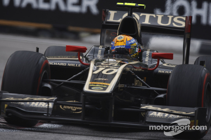Lotus GP just misses the 2012 team title in Singapore