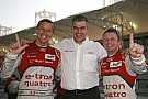 McNish and Fssler hand Audi front row at Bahrain