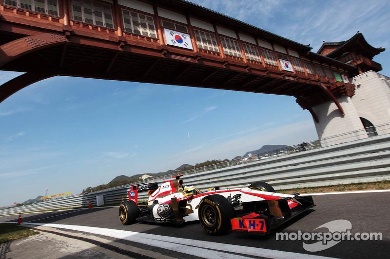 A bitter taste for HRT on qualifying day for Korean GP