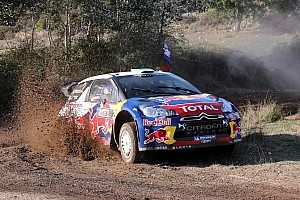 WRC Leg report Drama in Sardinia as Hirvonen leads