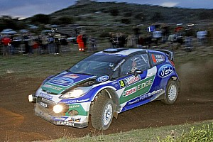 WRC Leg report Solberg heads Ford 1-2 in Power Stage finale at Rally Italia