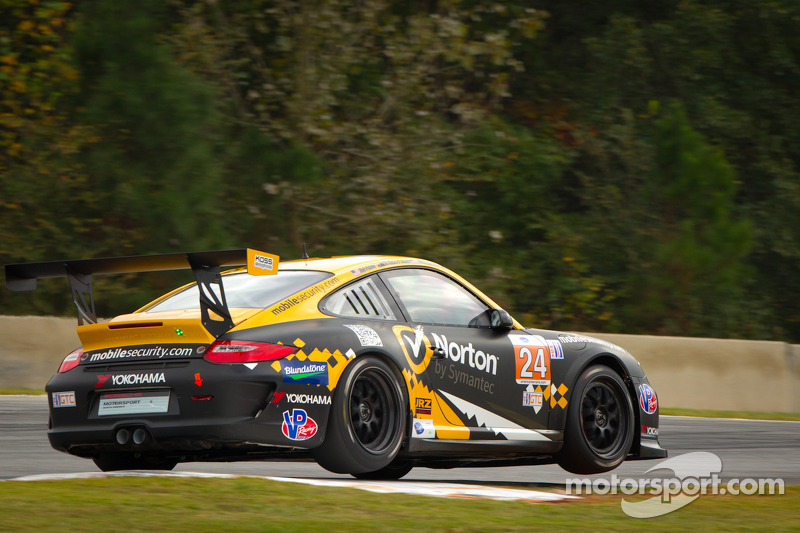 Great Petit Le Mans adventure ends early for Calvert-Jones, Avenatti and Davis