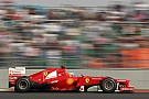 Two Ferraris on the third row for Indian Grand Prix