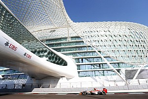 HRT set competitive times on qualifying at the Yas Marina Circuit