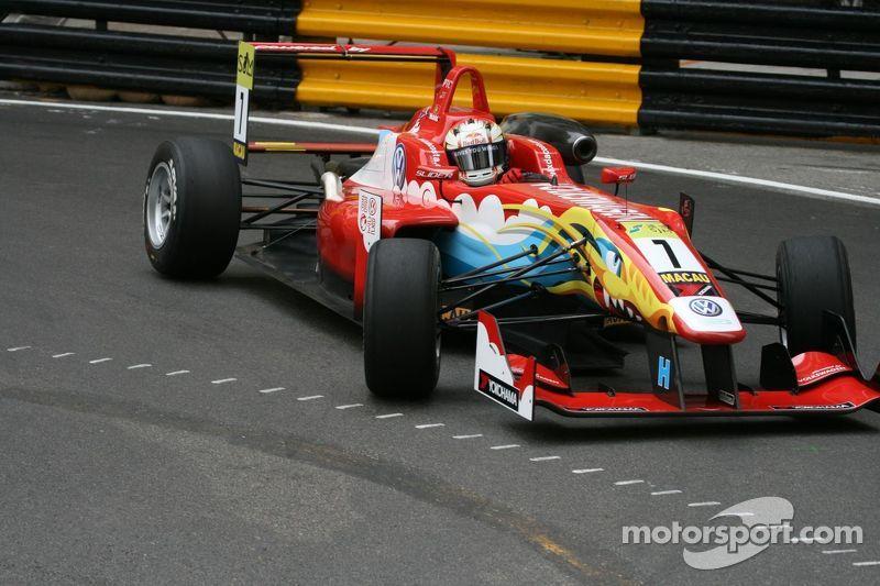 Felix da Costa on provisional pole for Macau Grand Prix
