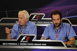 Formula 1 Breaking news Practice and qualifying ban for DRS in 2013