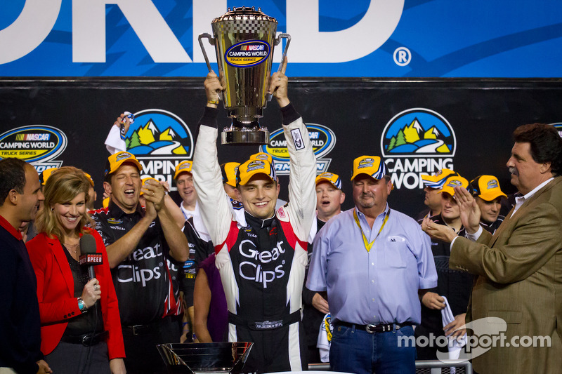 Chevrolet driver Buescher earns NCWTS 2012 championship