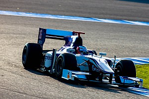 GP2 Testing report Richelmi has recorded a fastest lap testing at Jerez
