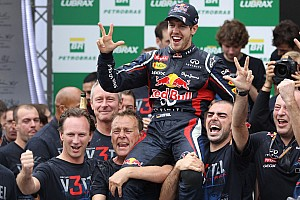 Red Bull Racing claims triple double Championships