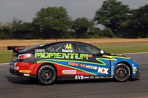 BTCC Breaking news Neate departs Triple Eight's MG KX Momentum team