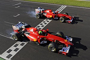 Ferrari Breaking news Finali Mondiali Ferrari ends with Alonso and Massa in attendance