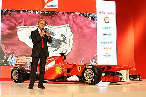 "Formula 1 Special feature Montezemolo: ""Ferrari remains at a high level"""