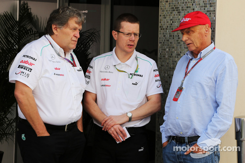 Haug felt responsible for Mercedes failure - Lauda