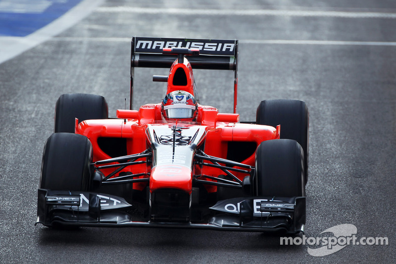 Marussia officially announces Chilton for next season
