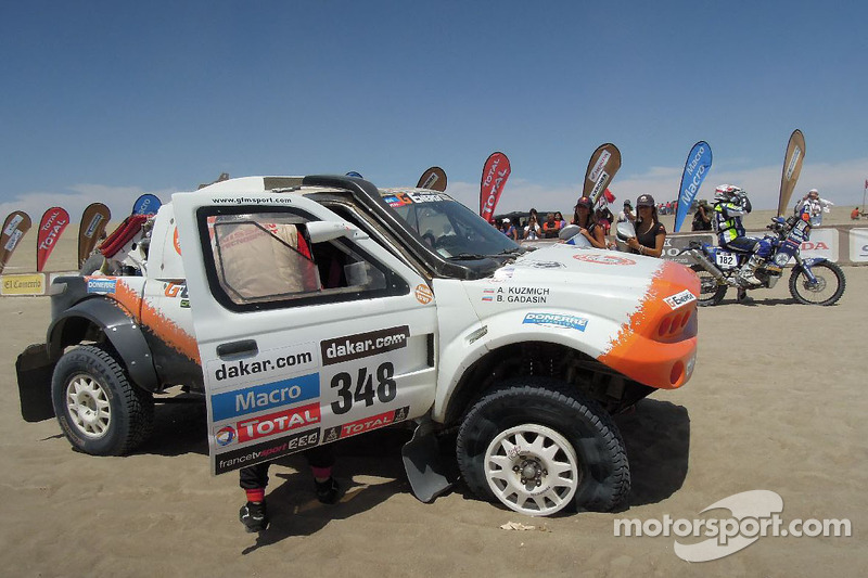 The G-Force Motorsport rookies have ups and downs in stage 3