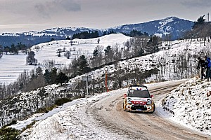 WRC Leg report Full speed ahead for early Monte Carlo leaders Loeb and Elena
