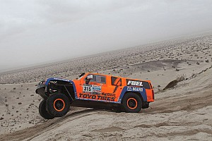 Dakar Stage report Stage 12 went extremely well Gordon and Walch