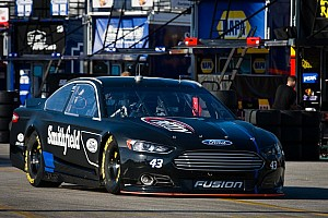 NASCAR Sprint Cup Testing report Almirola fastest on only day of Charlotte testing