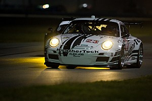 Grand-Am Race report WeatherTech Racing Porsche fifth after 12 hours at Daytona