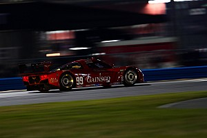 Grand-Am Race report Bob Stallings Racing Corvette DP rebounds for seventh place in Rolex 24