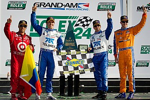 Grand-Am Race report Chip Ganassi Racing scores fifth Rolex 24 at Daytona win