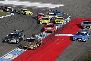 DTM Breaking news New timing in the DTM: start at 13.30 h